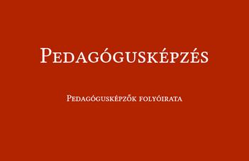 Megújult és online elérhető a Pedagógusképzés folyóirat