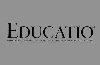 Megjelent az Educatio legfrissebb száma - Iskolai utak és pályautak