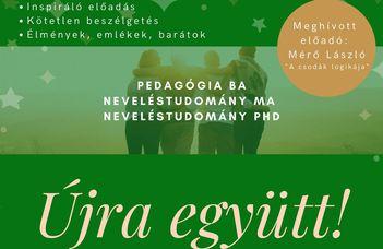 Újra együtt! A Neveléstudományi Intézet alumni találkozója