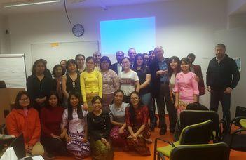Myanmar Nap a Neveléstudományi Intézetben